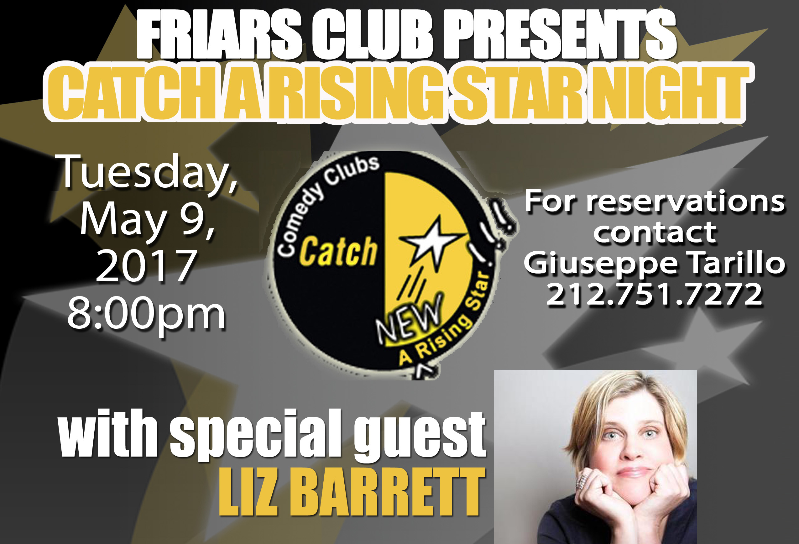 Catch A NEW Rising Star night with Liz Barrett