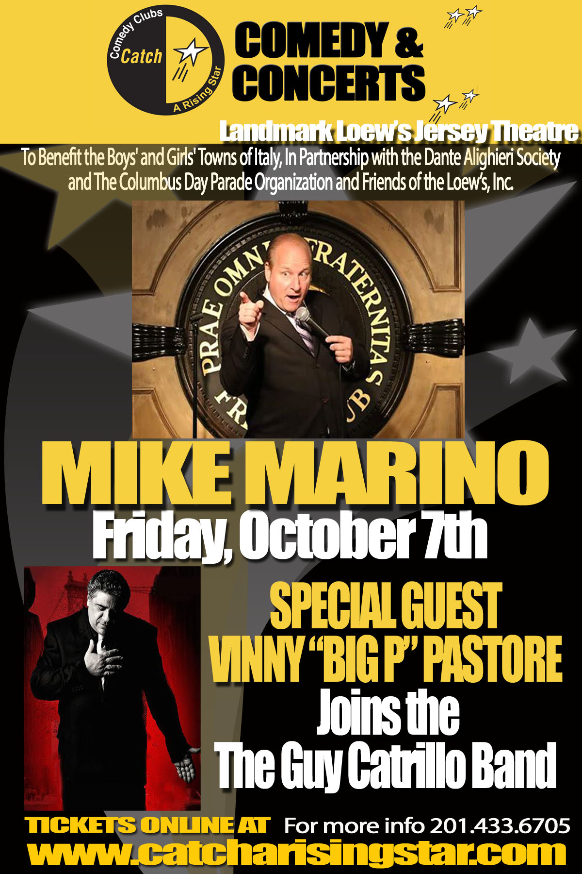 Mike Marino, Vin 'Big P' Pastore and the Guy Catrillo Band